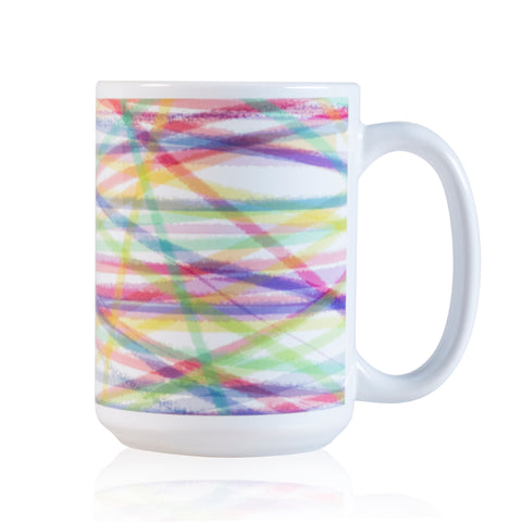 RIBBON CERAMIC MUG