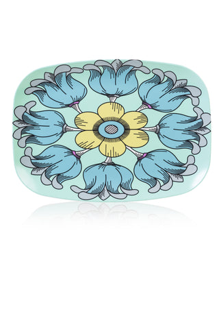 melamine platter (dinnerware, tray, platter, dishwasher safe, gift ideas,)