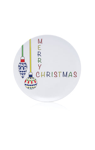 melamine dinner plates (christmas dinnerware)