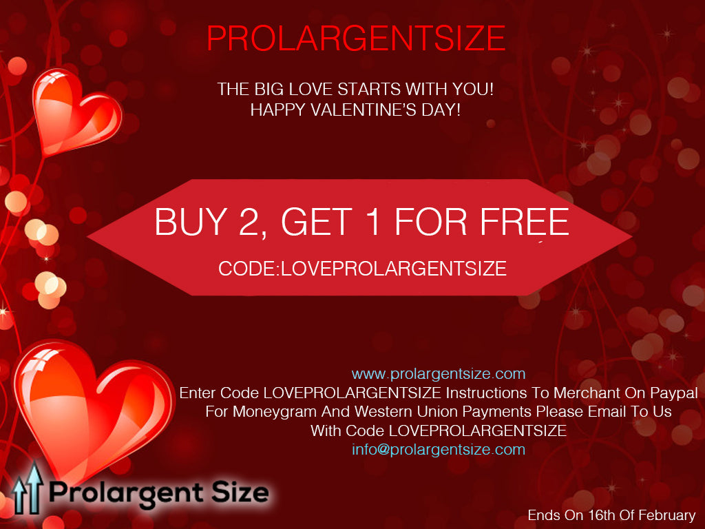 ProlargentSize Valentine's Day 2018 Best Offer