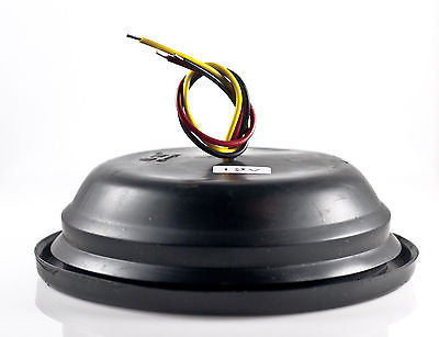 "4"" Inch Amber 28 LED Round Signal Turn Truck Light w/ Grommet & Wiring-Qty 2 - All Star Truck Parts"