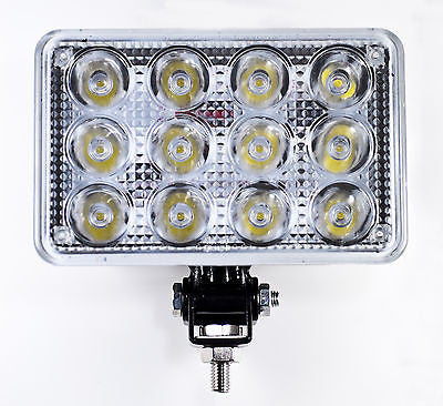 "7"" Inch 12 LED Round Work Spot Light 36w Off Road Jeep Truck 4x4 Lamp - Qty 1 - All Star Truck Parts"