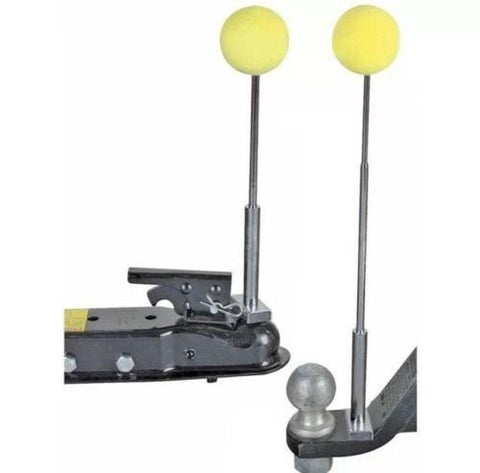 Magnetic Telescoping Trailer Hook-up/Hitch Alignment System Kit - Easy Install!