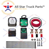 [ALL STAR TRUCK PARTS] 12V 140 Amp Dual Battery Smart Isolator Pro Complete Kit - VSR - Voltage Sensitive Relay Specially Designed for ATV, UTV, Boats, RV's, Campers 5th Wheels Off Road Vehicles Rhino Polar … - All Star Truck Parts