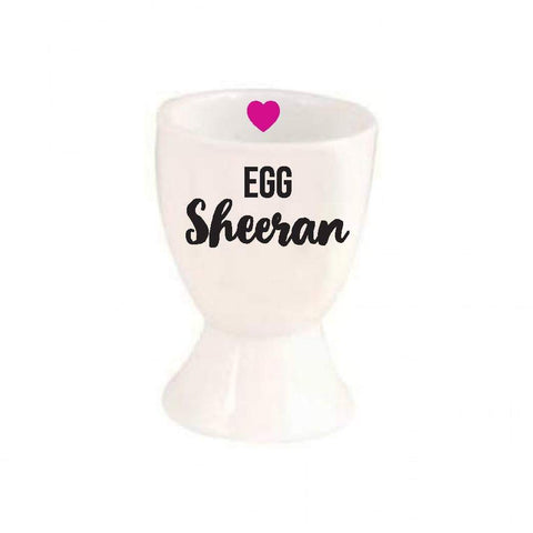 Egg Sheeran Eggcup