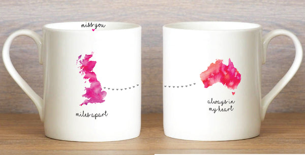 UK to OZ - Large Mug