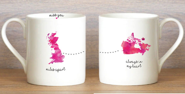 UK to Canada - Large Mug
