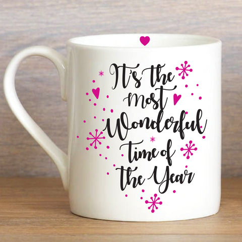 The most wonderful time of the year Large Mug - Coming Soon