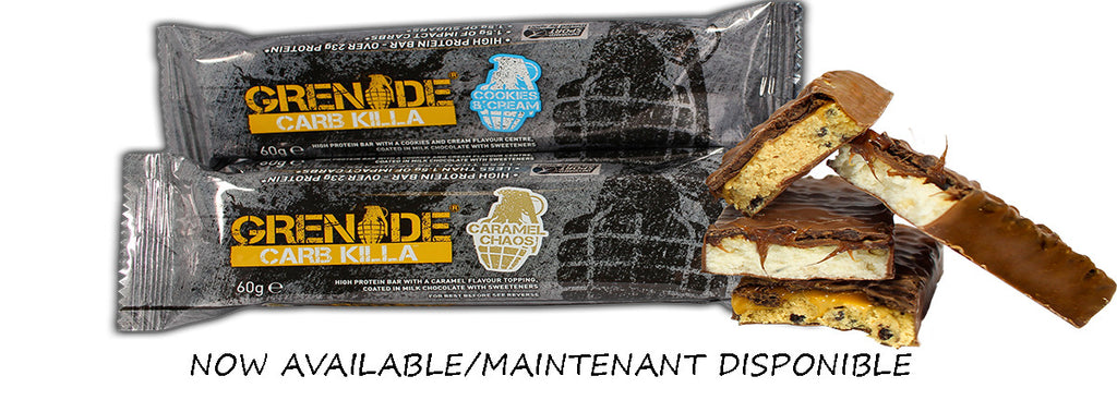 "Proteine Bar Review - ""Carb Killa"" Grenade Eiwit Reep"