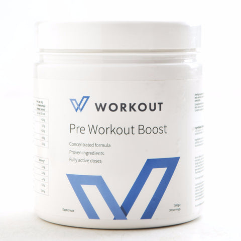 Pre Workout Boost - WORKOUT