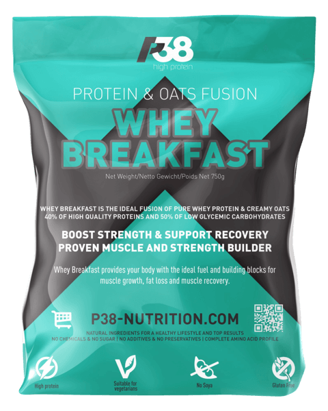 Whey Breakfast (Protein & oats fusion)