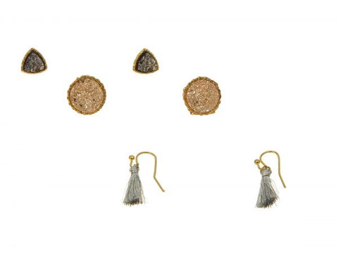Kole Design Earring - Triple Pack