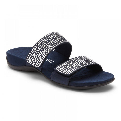 Samoa adjustable navy sandals