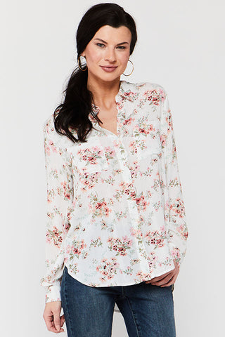 Anise Cactus Garden Button-Up Shirt