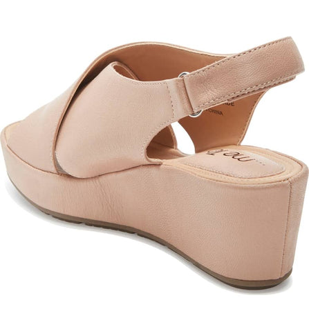 ccf3c2f86b Arena nude wedge sandals – STEP in 4 MOR