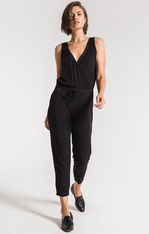 Argeles jumpsuit in ebony