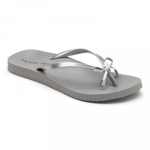 Beach Bells Noosa grey flip flops