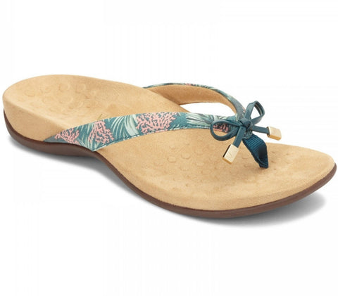 Bella teal daintree coral sandals