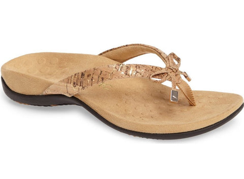 Bella gold cork sandals
