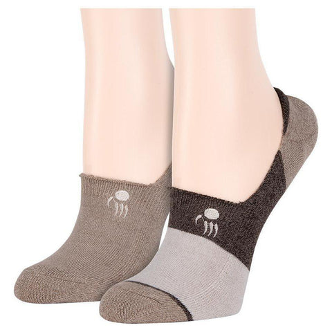 Full terry bootie socks (2 pairs)