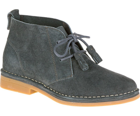 Cyra Catelyn WorryFree Suede® Boots in Dark Grey