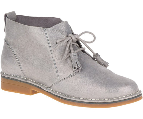 Cyra Catelyn WorryFree Suede® Boots in Shimmer Grey
