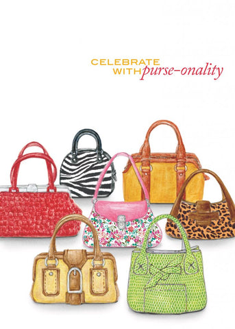 Greeting Card - Purse-onality