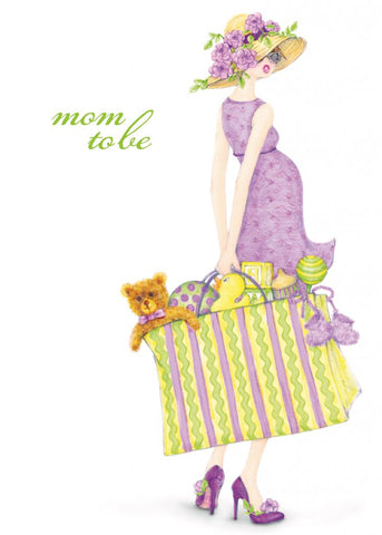 Greeting Card - Mom To Be