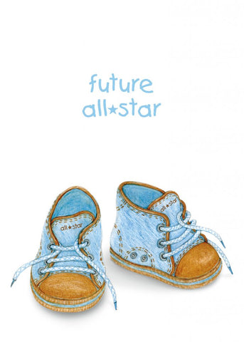 Greeting Card - Future All Star