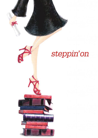 Greeting Card - Steppin' On