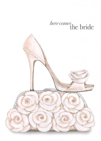 Greeting Card - Here Comes The Bride