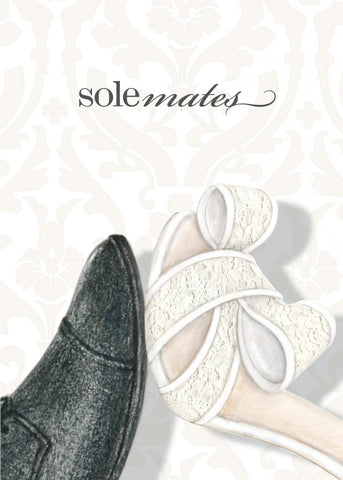 Greeting Card - Sole-mates