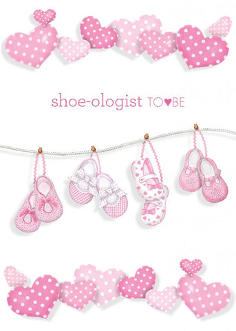 Greeting Card - Shoe-ologist-To-Be
