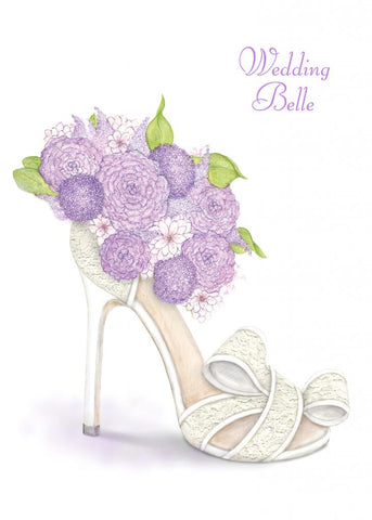 Greeting Card - Wedding Belle