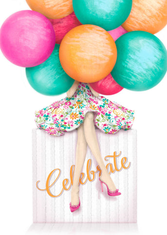 Greeting Card - Celebrate