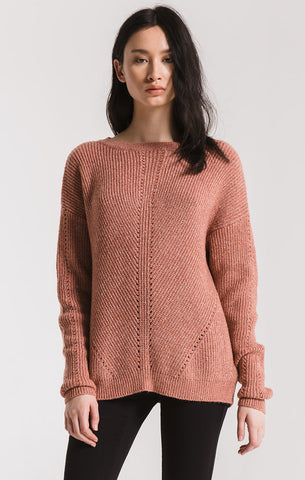 Greenpoint knit sweater in sycamore