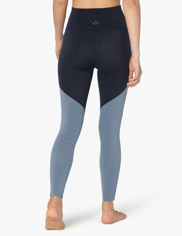 44a94022a852ea Plush angled high waisted midi legging in navy heather – STEP in 4 MOR