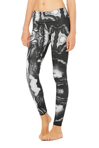 Tech lift airbrush legging in mineral