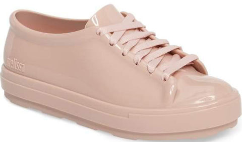 Be lace-up sneaker in light pink