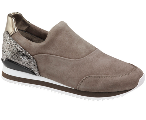 Jody slip-on sneakers in taupe