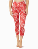 Lux batik blooms high waisted capris