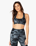Work it out bra in navy camo