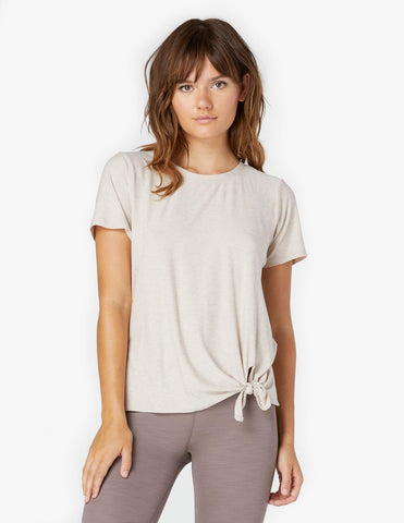 Lightweight all for ties tee in sand swept desert