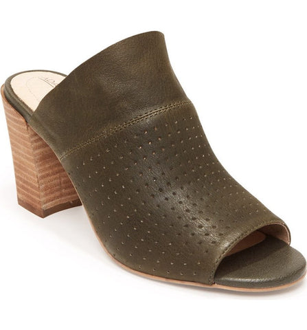 Mackey perforated slide in olive