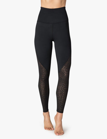 Cut it close high waisted leggings in black