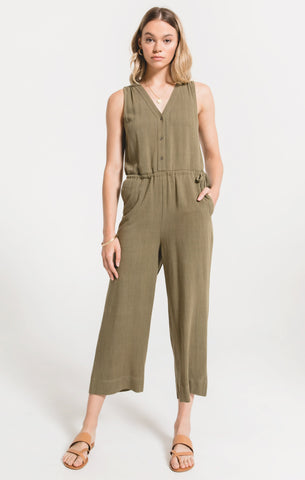Rapollo jumpsuit in dusty green