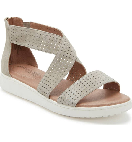 Rayna stone perforated sandals