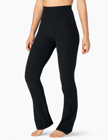 High waisted practice pants in darkest night