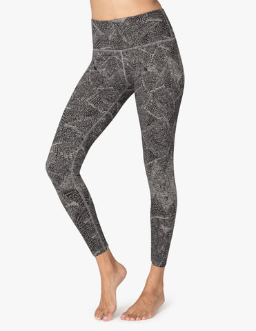 Fossilized high waisted midi leggings