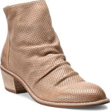 Sancia slouchy booties in light taupe